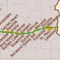 yellowstone trail minnesota map justtowns